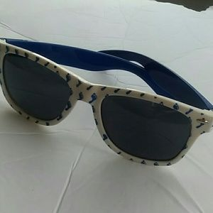 BLUE & WHITE BAREFOOT SUNGLASSES